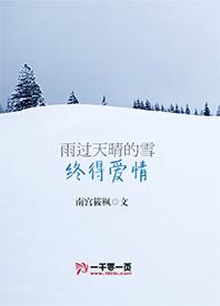 雨过天晴的雪终得爱情小说下载